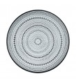Iittala Kastehelmi grå, 6 tallrikar (24,8 cm)