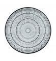Iittala Kastehelmi grå, 12 tallrikar (24,8 cm)