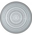 Iittala Kastehelmi grå, 6 tallrikar (31,5 cm)