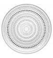 Iittala Kastehelmi klar, 12 tallrikar (24,8 cm)