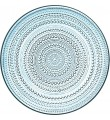 Iittala Kastehelmi ljusblå, 6 tallrikar (31,5 cm)