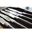 6 Laguiole En Aubrac Wenge Biff knivar